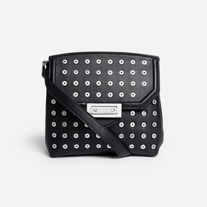 eyelet-leather-bag